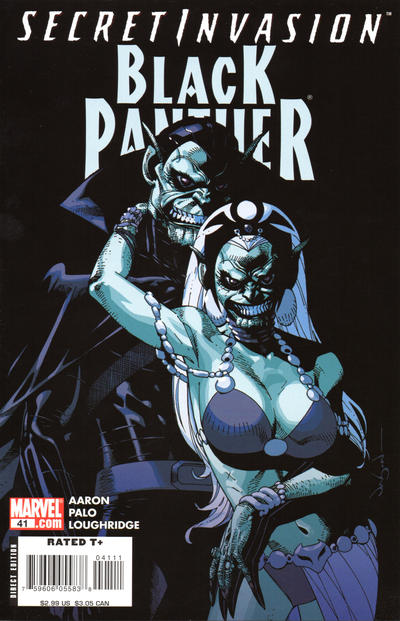Cover for Black Panther (Marvel, 2005 series) #41