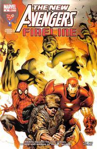 Cover Thumbnail for AAFES 6 [New Avengers: Fireline] (Marvel, 2008 series)