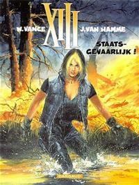 Cover Thumbnail for XIII (Dargaud Benelux, 1984 series) #14 - Staatsgevaarlijk!