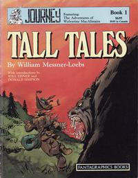 Cover Thumbnail for Journey (Fantagraphics, 1987 series) #1 - Tall Tales