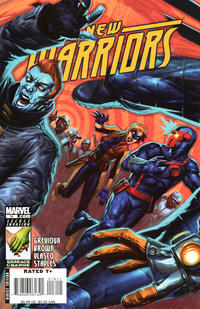 Cover Thumbnail for New Warriors (Marvel, 2007 series) #16