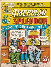 Cover Thumbnail for American Splendor (Harvey Pekar, 1976 series) #1