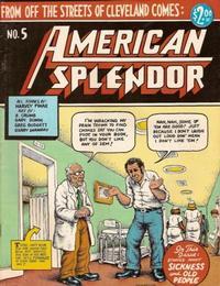 Cover Thumbnail for American Splendor (Harvey Pekar, 1976 series) #5