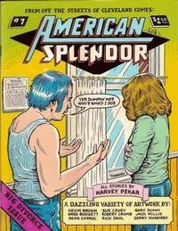Cover Thumbnail for American Splendor (Harvey Pekar, 1976 series) #7