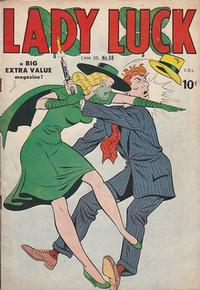 Cover Thumbnail for Lady Luck (Bell Features, 1950 series) #88