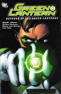 Cover Thumbnail for Green Lantern: Revenge of the Green Lanterns (DC, 2008 series)