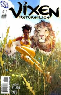 Cover Thumbnail for Vixen: Return of the Lion (DC, 2008 series) #1