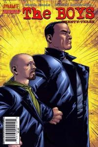 Cover for The Boys (Dynamite Entertainment, 2007 series) #23