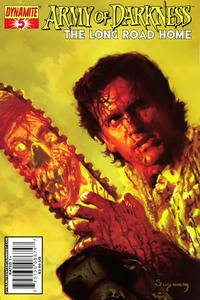 Cover for Army of Darkness (Dynamite Entertainment, 2007 series) #5 [Fabiano Neves Cover]