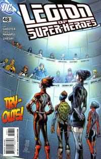 Cover Thumbnail for Legion of Super-Heroes (DC, 2008 series) #48