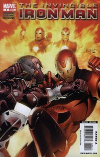 Cover Thumbnail for Invincible Iron Man (Marvel, 2008 series) #6 [Salvador Larroca Standard Cover]