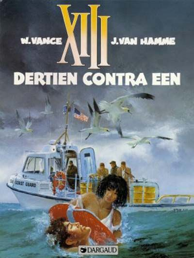 Cover for XIII (Dargaud Benelux, 1984 series) #8 - Dertien contra Een