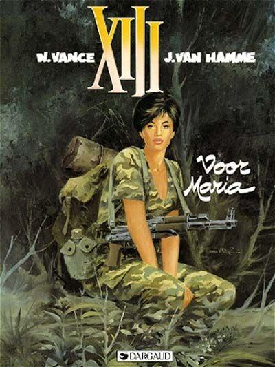 Cover for XIII (Dargaud Benelux, 1984 series) #9 - Voor Maria
