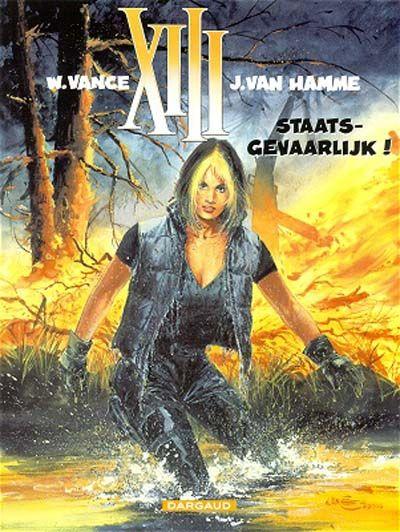 Cover for XIII (Dargaud Benelux, 1984 series) #14 - Staatsgevaarlijk!