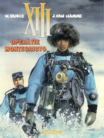 Cover for XIII (Dargaud Benelux, 1984 series) #16 - Operatie Montecristo