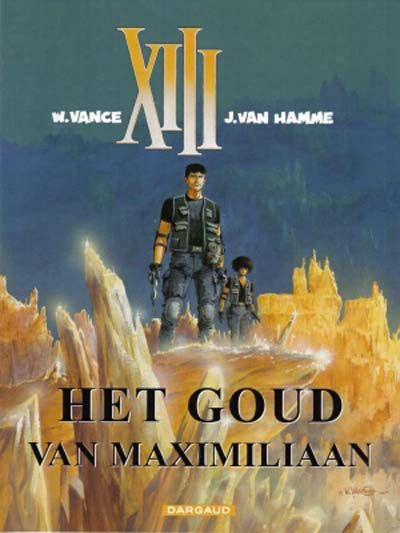 Cover for XIII (Dargaud Benelux, 1984 series) #17 - Het goud van Maximiliaan