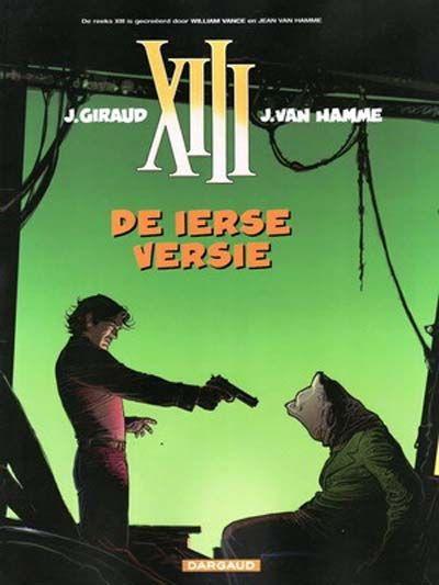 Cover for XIII (Dargaud Benelux, 1984 series) #18 - De Ierse versie