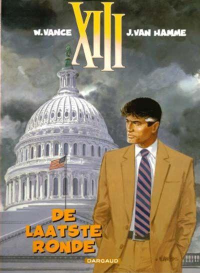 Cover for XIII (Dargaud Benelux, 1984 series) #19 - De laatste ronde