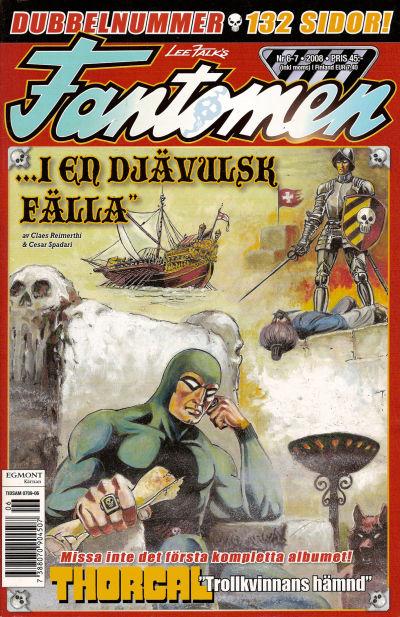 Cover for Fantomen (Egmont, 1997 series) #6-7/2008