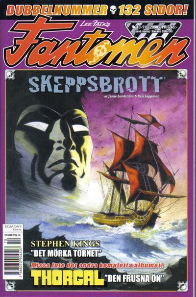 Cover for Fantomen (Egmont, 1997 series) #10-11/2008
