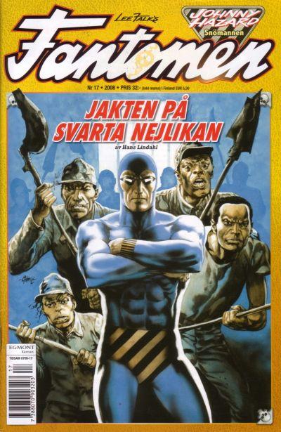Cover for Fantomen (Egmont, 1997 series) #17/2008