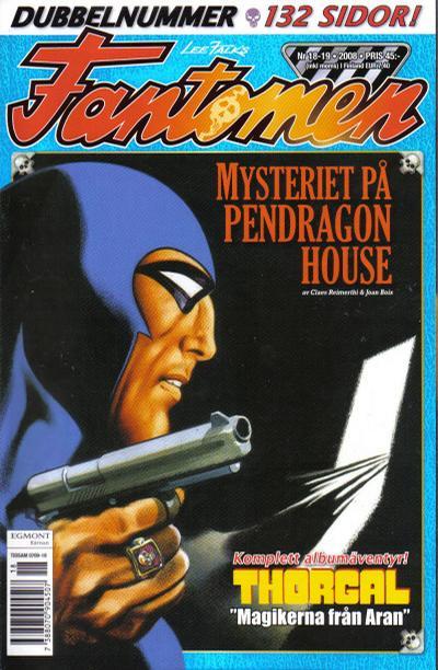 Cover for Fantomen (Egmont, 1997 series) #18-19/2008