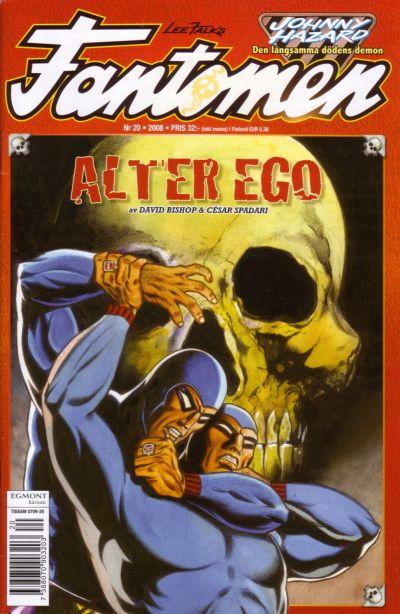 Cover for Fantomen (Egmont, 1997 series) #20/2008