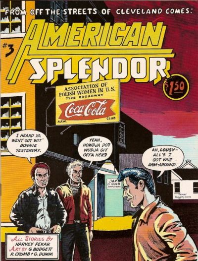 Cover for American Splendor (Harvey Pekar, 1976 series) #3