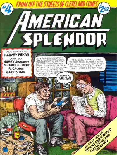Cover for American Splendor (Harvey Pekar, 1976 series) #4