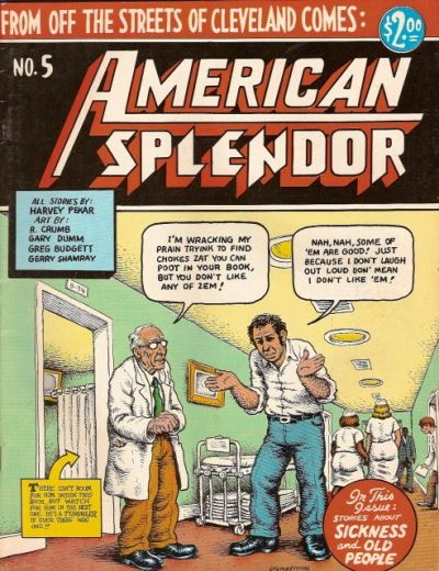 Cover for American Splendor (Harvey Pekar, 1976 series) #5