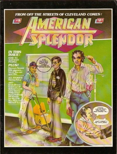 Cover for American Splendor (Harvey Pekar, 1976 series) #9