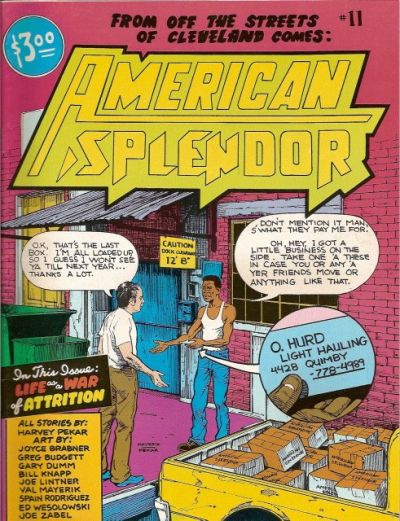 Cover for American Splendor (Harvey Pekar, 1976 series) #11