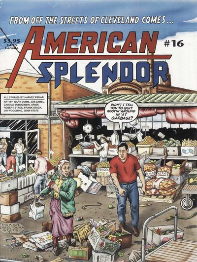 Cover for American Splendor (Harvey Pekar, 1976 series) #16