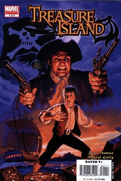 Cover for Marvel Illustrated: Treasure Island (Marvel, 2007 series) #1