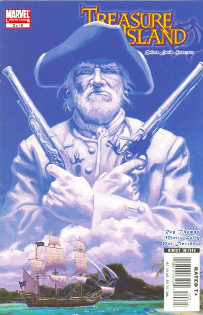 Cover for Marvel Illustrated: Treasure Island (Marvel, 2007 series) #2