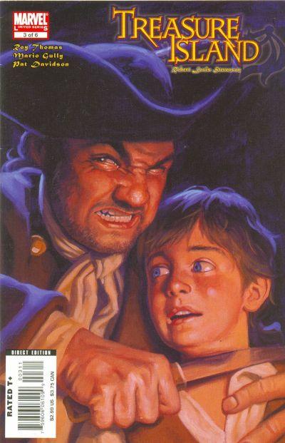 Cover for Marvel Illustrated: Treasure Island (Marvel, 2007 series) #3