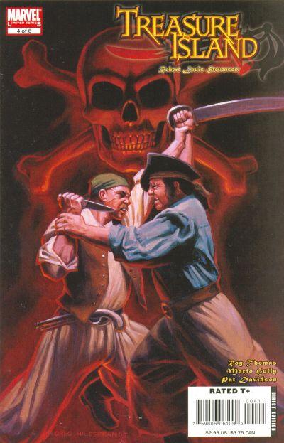 Cover for Marvel Illustrated: Treasure Island (Marvel, 2007 series) #4