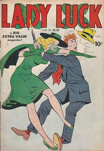Cover for Lady Luck (Bell Features, 1950 series) #88