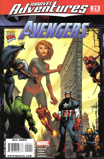 Cover for Marvel Adventures The Avengers (Marvel, 2006 series) #29