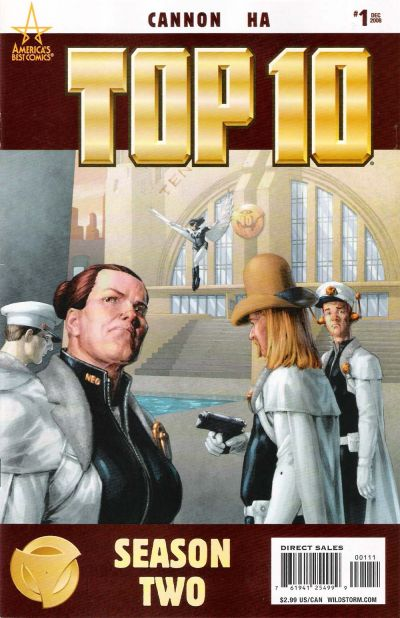 Cover for Top 10 Season Two (DC, 2008 series) #1