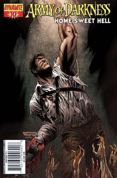 Cover for Army of Darkness (Dynamite Entertainment, 2007 series) #10 [Cover A - Fabiano Neves]