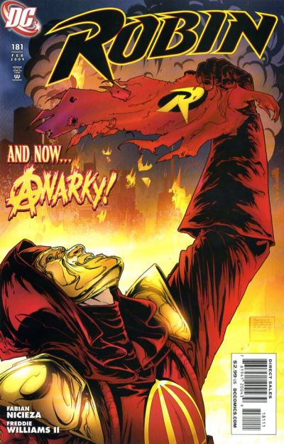 Cover for Robin (DC, 1993 series) #181