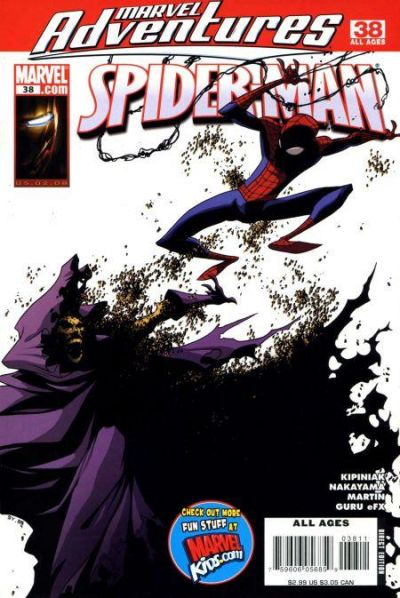 Cover for Marvel Adventures Spider-Man (Marvel, 2005 series) #38