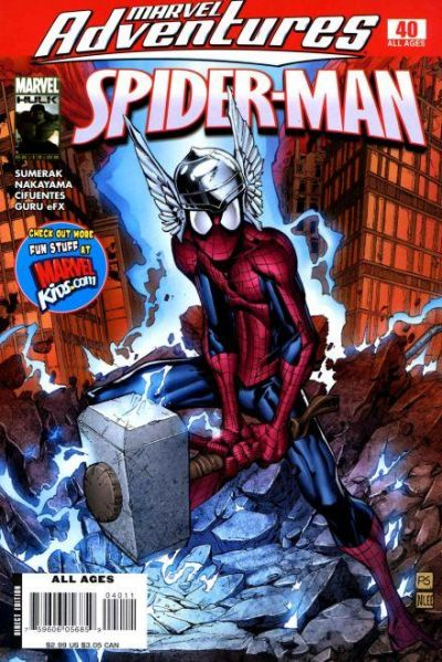 Cover for Marvel Adventures Spider-Man (Marvel, 2005 series) #40