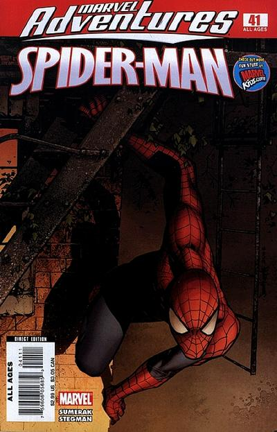 Cover for Marvel Adventures Spider-Man (Marvel, 2005 series) #41