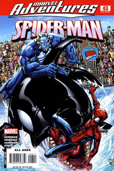 Cover for Marvel Adventures Spider-Man (Marvel, 2005 series) #43