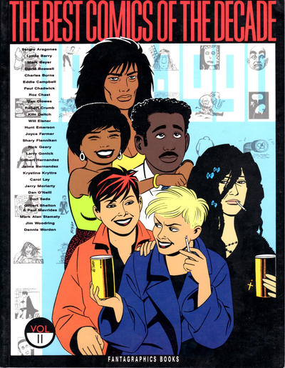 Cover for The Best Comics of the Decade (Fantagraphics, 1990 series) #2