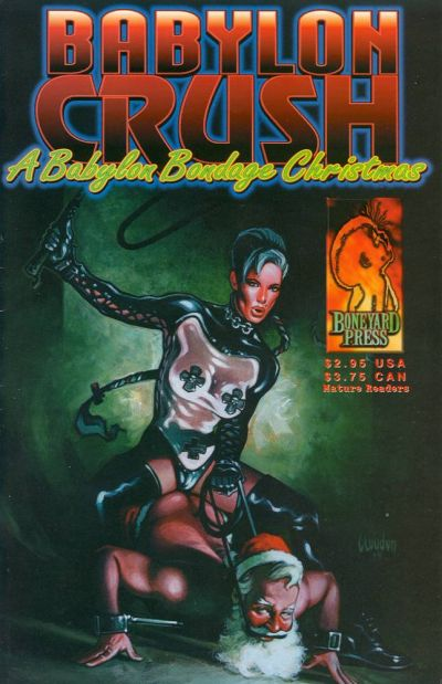 Cover for Babylon Crush: A Babylon Bondage Christmas (Boneyard Press, 1998 series) #1