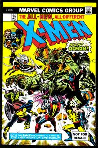 Cover Thumbnail for X-Men Vol. 1, No. 96 [Marvel Legends Reprint] (Marvel, 2004 series)