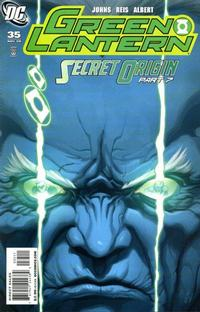 Cover Thumbnail for Green Lantern (DC, 2005 series) #35 [Direct Sales]